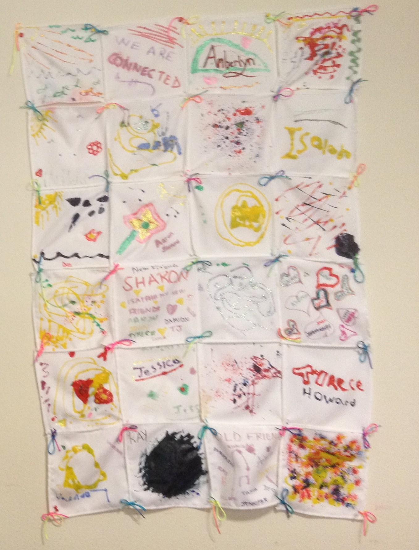 banners by kids with sylvia thomas support and guidance